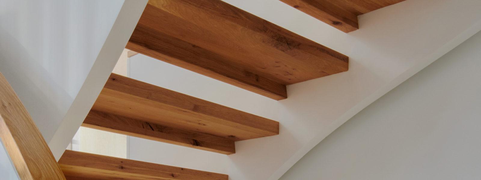 Modern Helix Stairway in New York City by Arcways Custom Stairs