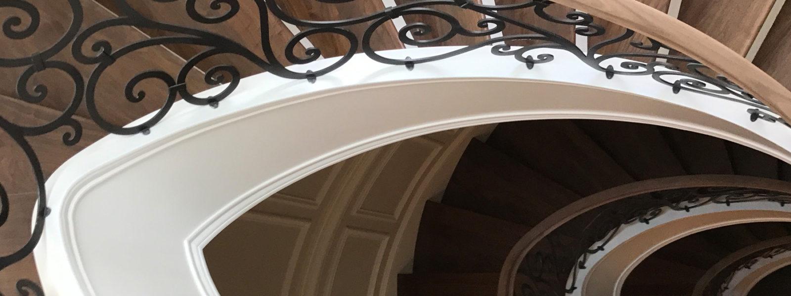 Helical Stairway by Arcways Custom Stairs